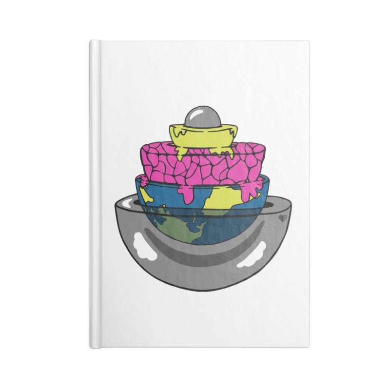 Layers of the Earth Accessories Notebook by Jungle Girl Designs