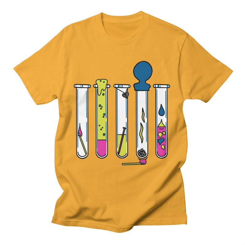 Chemical Reactions Men's T-Shirt by Jungle Girl Designs