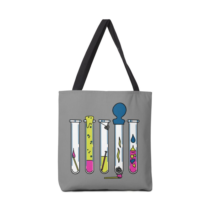 Chemical Reactions Accessories Bag by Jungle Girl Designs