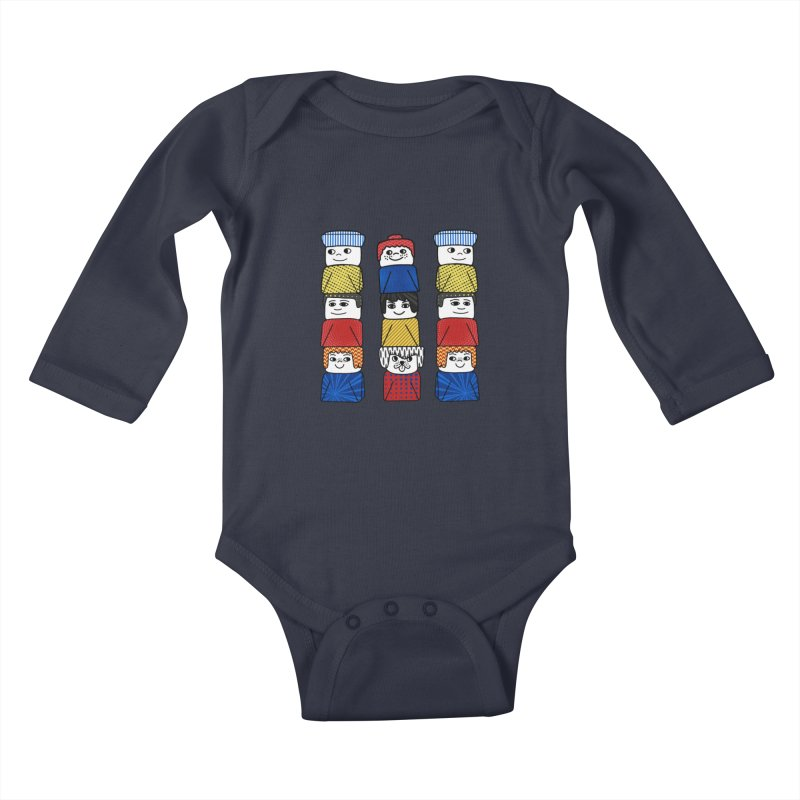 Everlasting Smiles Kids Baby Longsleeve Bodysuit by Jungle Girl Designs