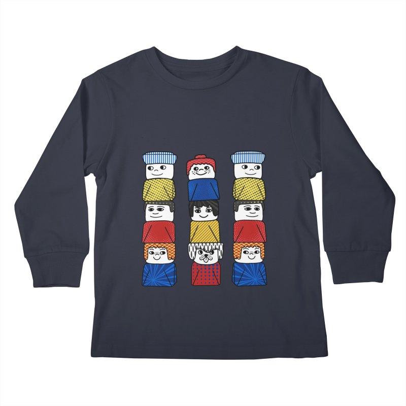 Everlasting Smiles Kids Longsleeve T-Shirt by Jungle Girl Designs