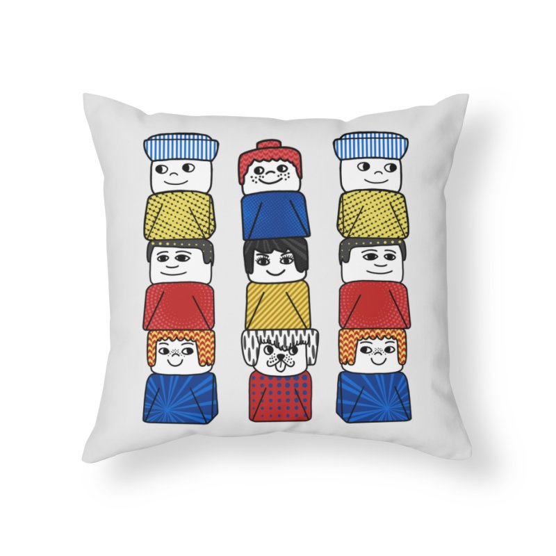 Everlasting Smiles Home Throw Pillow by Jungle Girl Designs