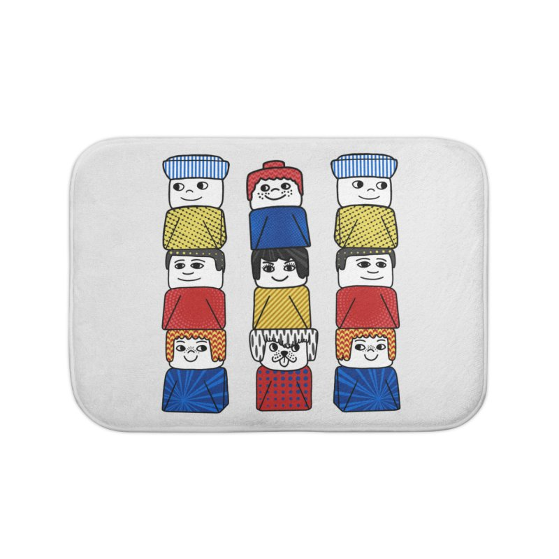 Everlasting Smiles Home Bath Mat by Jungle Girl Designs