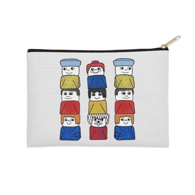 Everlasting Smiles Accessories Zip Pouch by Jungle Girl Designs
