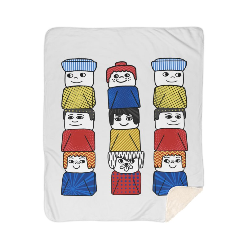 Everlasting Smiles Home Blanket by Jungle Girl Designs