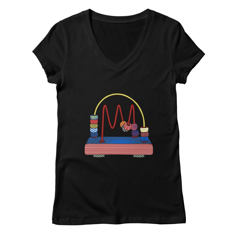 Everlasting Thoughts Women's V-Neck by Jungle Girl Designs