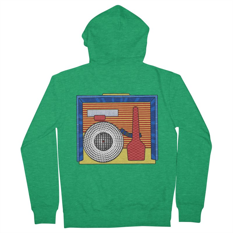 Everlasting Music Men's Zip-Up Hoody by Jungle Girl Designs
