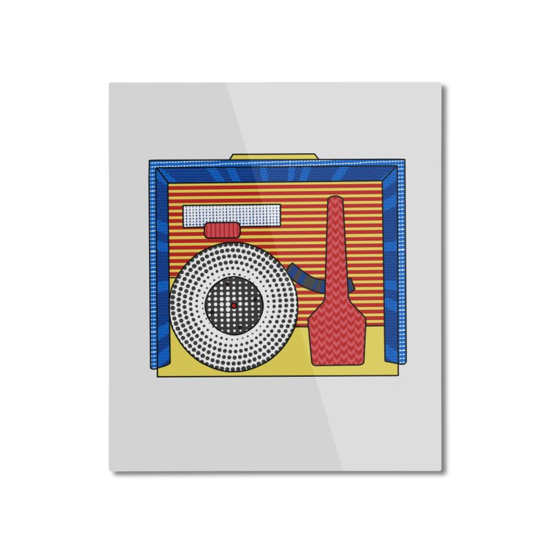Everlasting Music Home Mounted Aluminum Print by Jungle Girl Designs