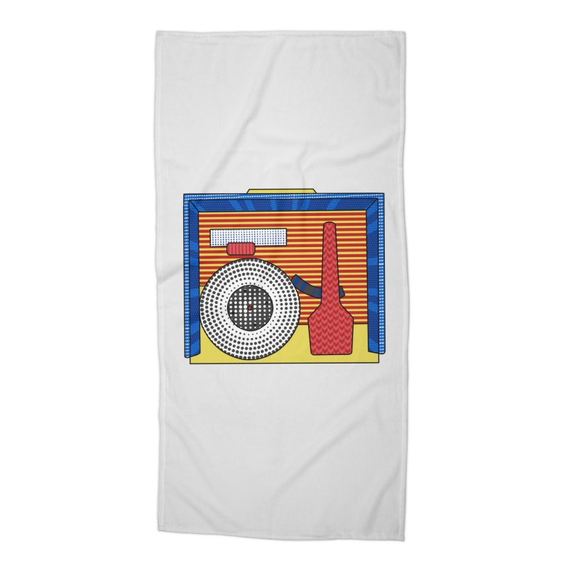 Everlasting Music Accessories Beach Towel by Jungle Girl Designs