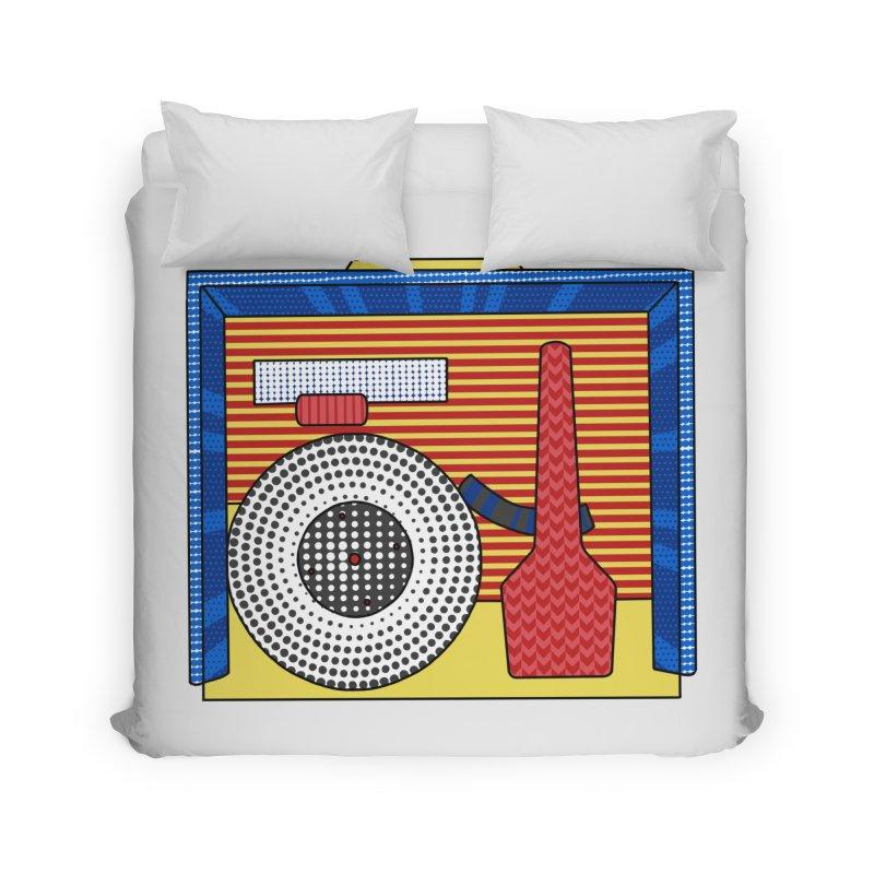 Everlasting Music Home Duvet by Jungle Girl Designs