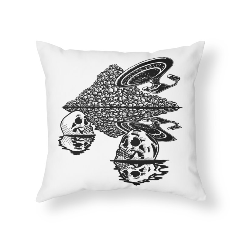 The Best of Both Worlds Home Throw Pillow by Jungle Girl Designs