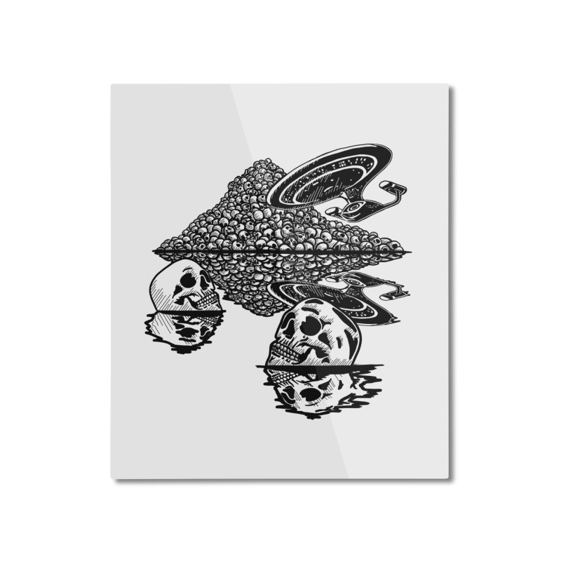 The Best of Both Worlds Home Mounted Aluminum Print by Jungle Girl Designs