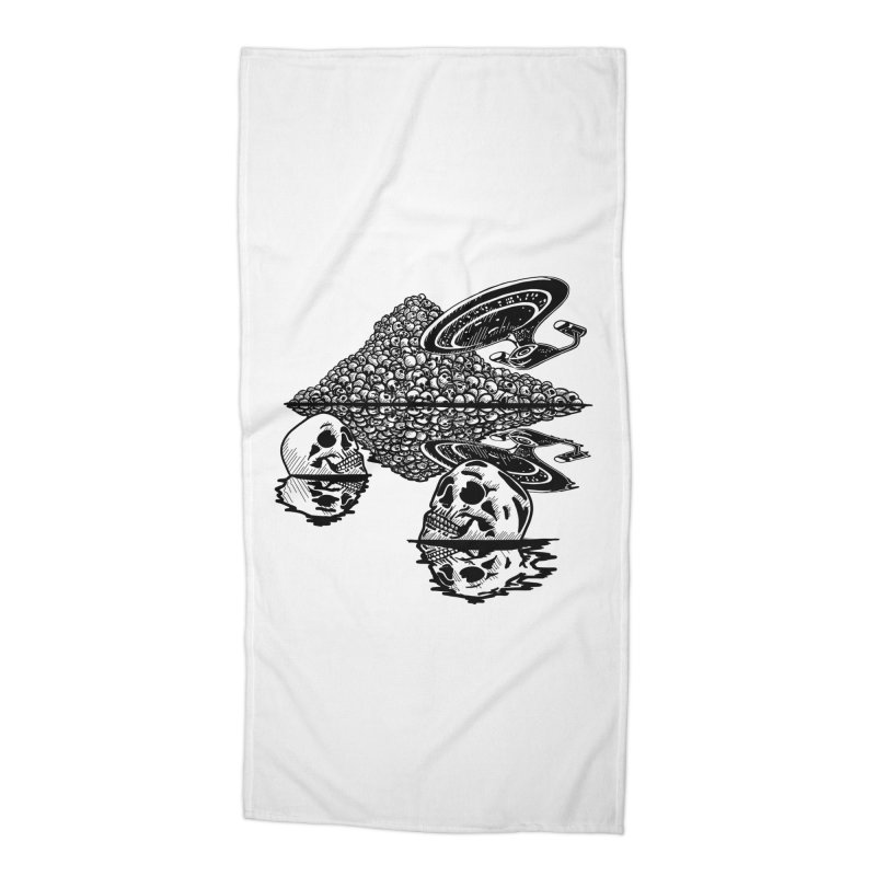 The Best of Both Worlds Accessories Beach Towel by Jungle Girl Designs
