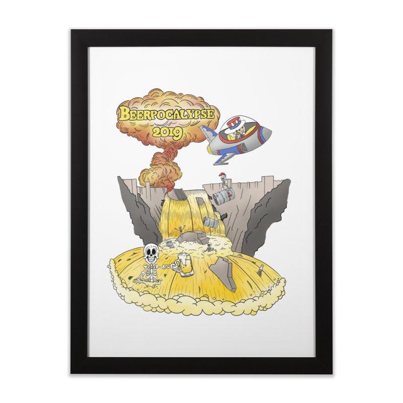 Beerpocalypse 2019 Home Framed Fine Art Print by Jungle Girl Designs