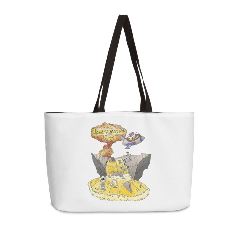Beerpocalypse 2019 Accessories Bag by Jungle Girl Designs