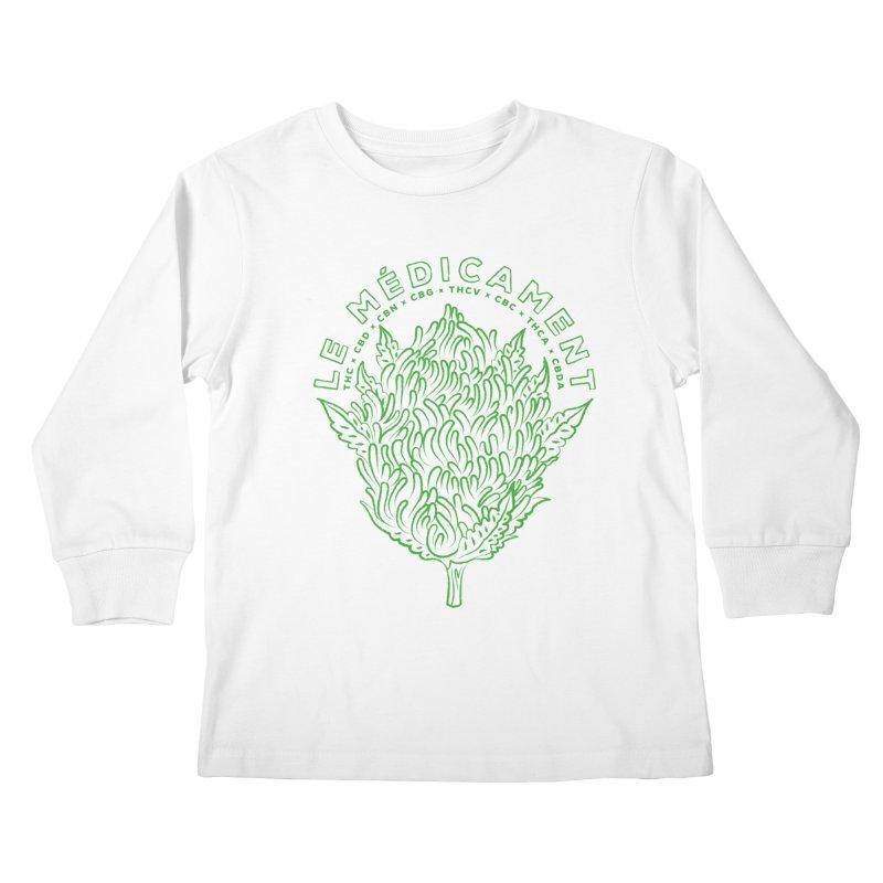 Le Médicament Kids Longsleeve T-Shirt by junior's Artist Shop