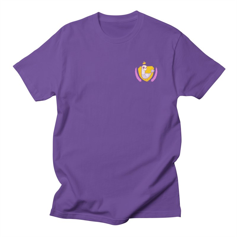 Pigeon King in Men's Regular T-Shirt Purple by Junior Arce's Shop
