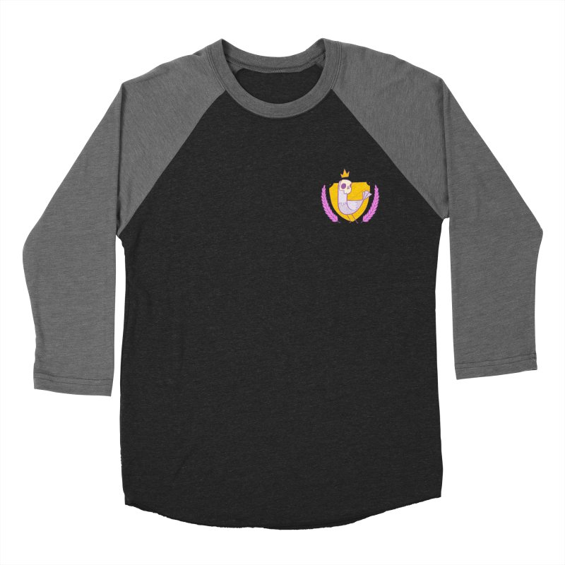 Pigeon King Women's Baseball Triblend Longsleeve T-Shirt by Junior Arce's Shop