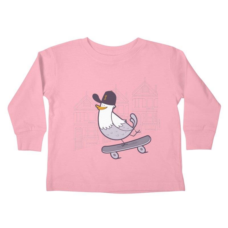 Keep Moving Kids Toddler Longsleeve T-Shirt by Junior Arce's Shop