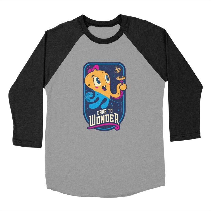 Wonder Women's Baseball Triblend Longsleeve T-Shirt by Junior Arce's Shop