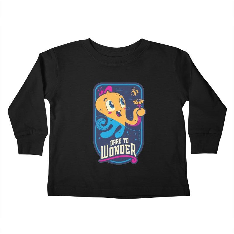 Wonder Kids Toddler Longsleeve T-Shirt by Junior Arce's Shop