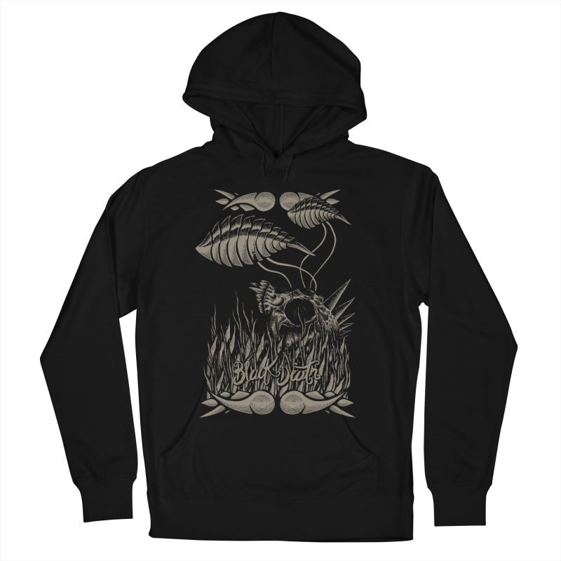 Black Death Men's Pullover Hoody by junkart's Artist Shop