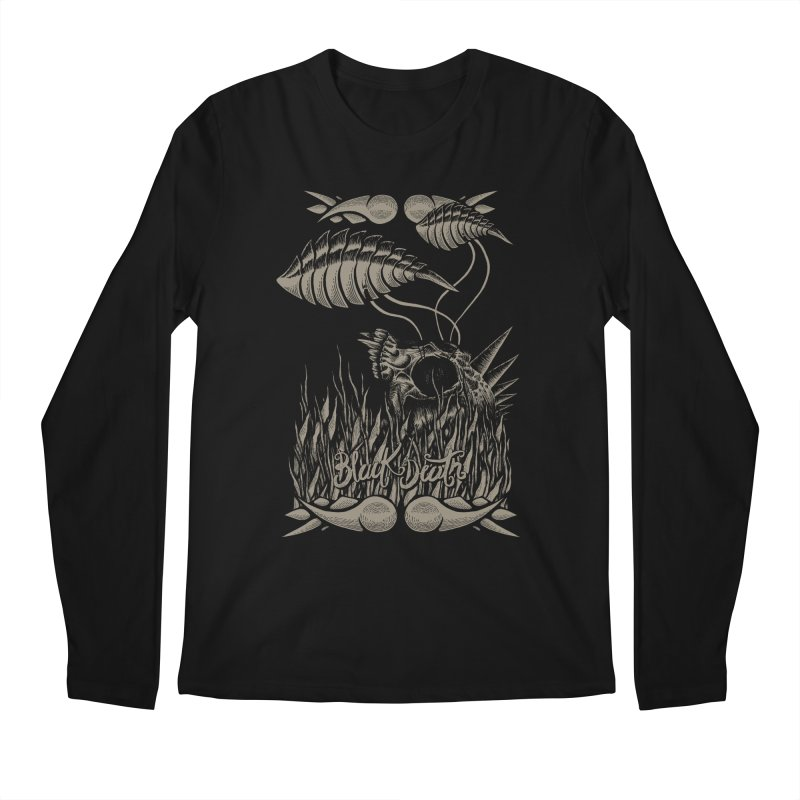 Black Death Men's Longsleeve T-Shirt by junkart's Artist Shop