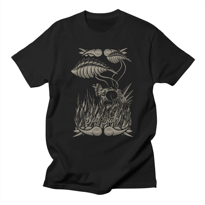 Black Death Men's T-shirt by junkart's Artist Shop