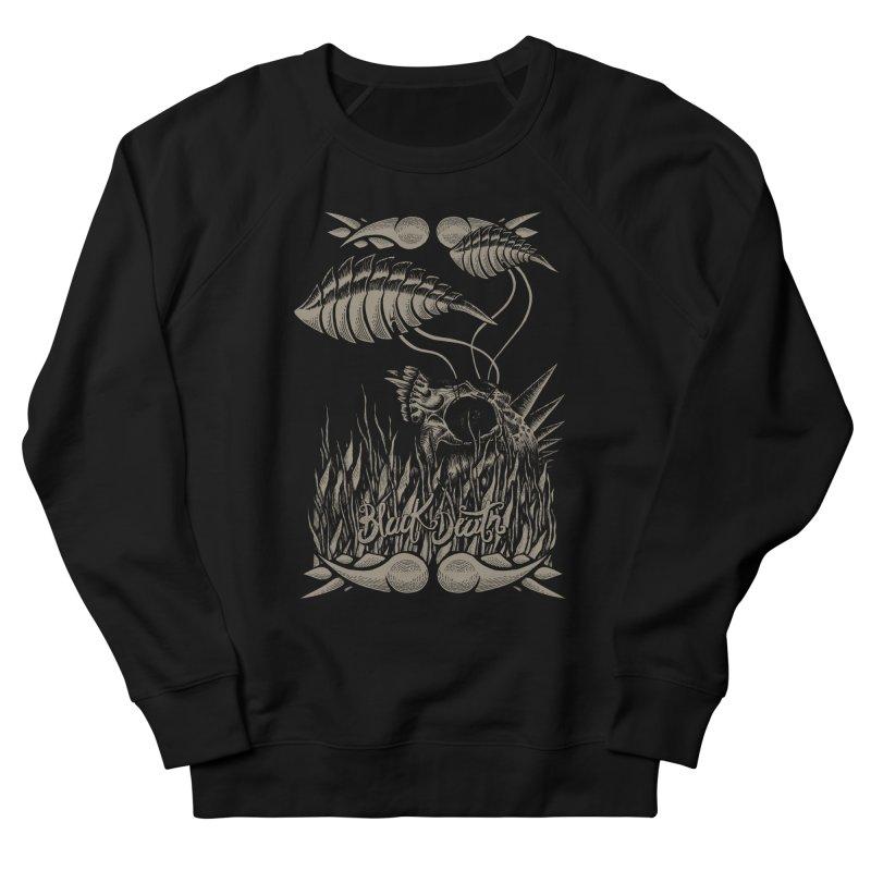 Black Death Women's Sweatshirt by junkart's Artist Shop
