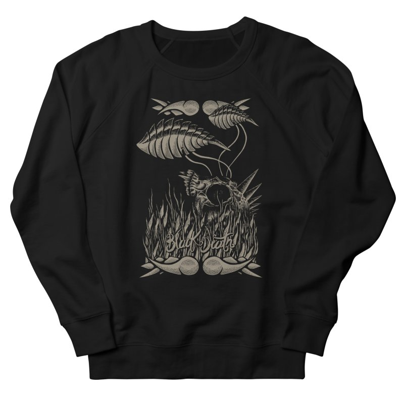 Black Death Men's Sweatshirt by junkart's Artist Shop