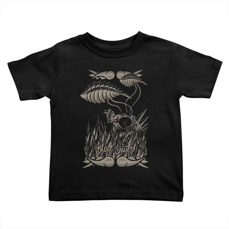 Black Death Kids Toddler T-Shirt by junkart's Artist Shop