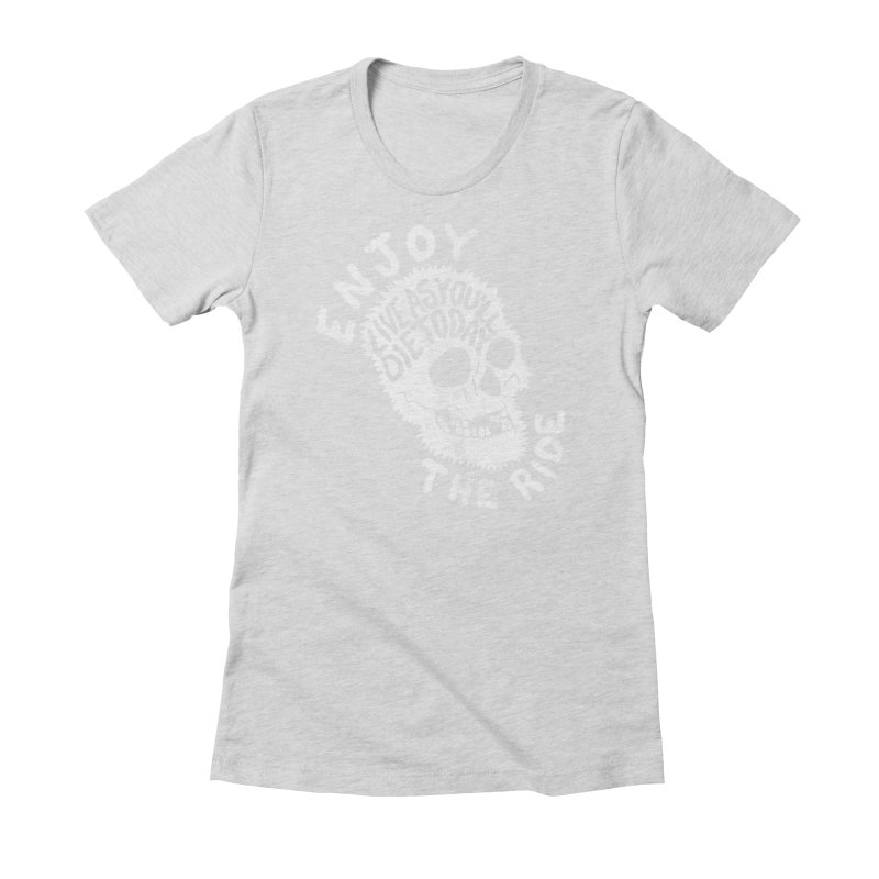 Enjoy Women's Fitted T-Shirt by junkers's Shop