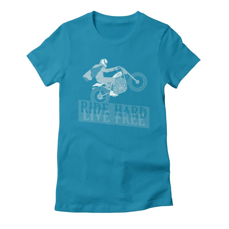 Evel Women's Fitted T-Shirt by junkers's Shop