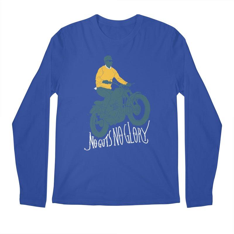 no guts, no glory Men's Longsleeve T-Shirt by junkers's Shop