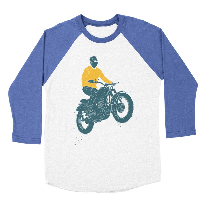 no guts, no glory Women's Baseball Triblend T-Shirt by junkers's Shop