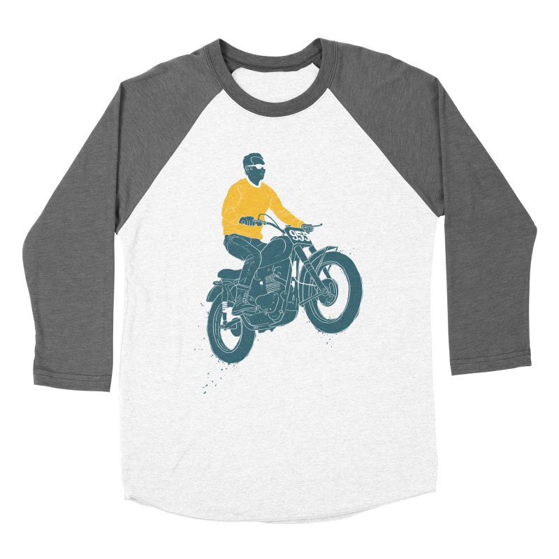 no guts, no glory Men's Baseball Triblend T-Shirt by junkers's Shop