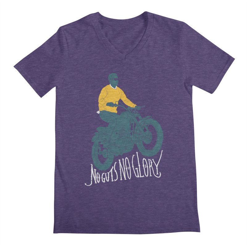 no guts, no glory Men's V-Neck by junkers's Shop