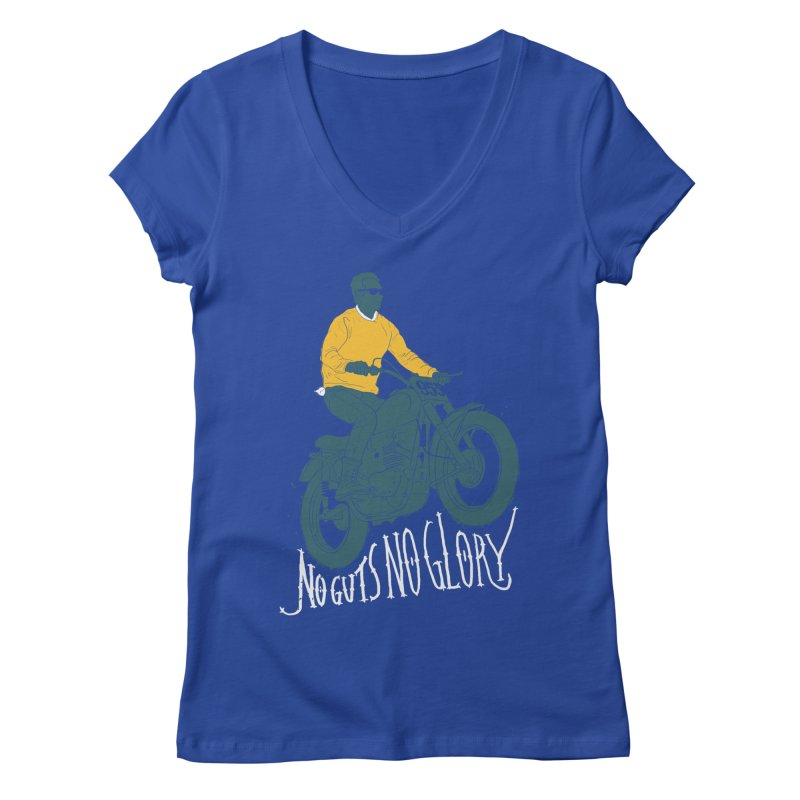no guts, no glory Women's V-Neck by junkers's Shop