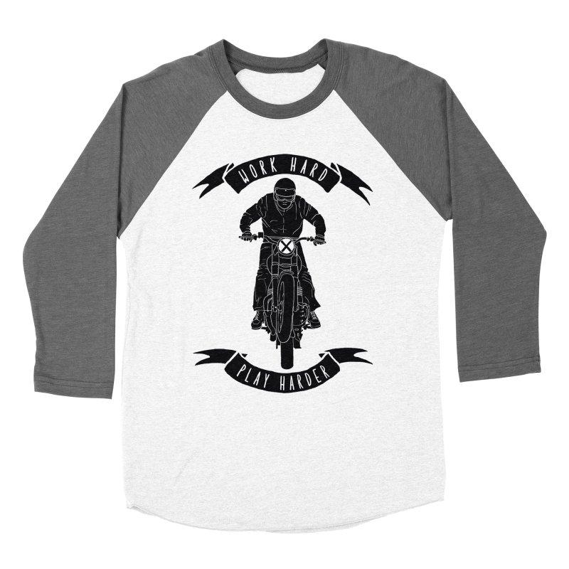 harder Men's Baseball Triblend T-Shirt by junkers's Shop