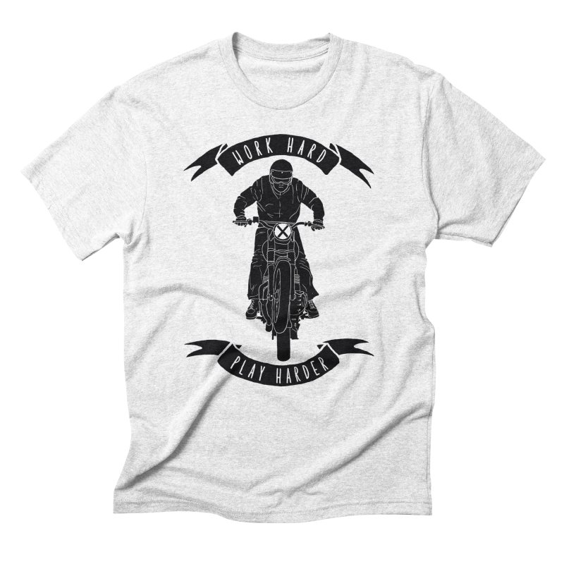 harder Men's Triblend T-shirt by junkers's Shop
