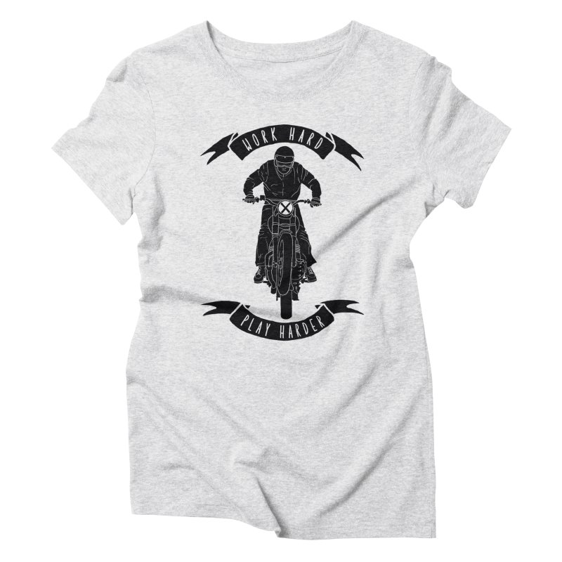 harder Women's Triblend T-Shirt by junkers's Shop