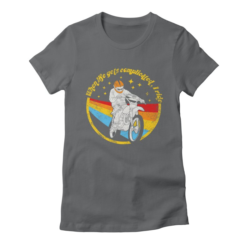 complicated Women's Fitted T-Shirt by junkers's Shop