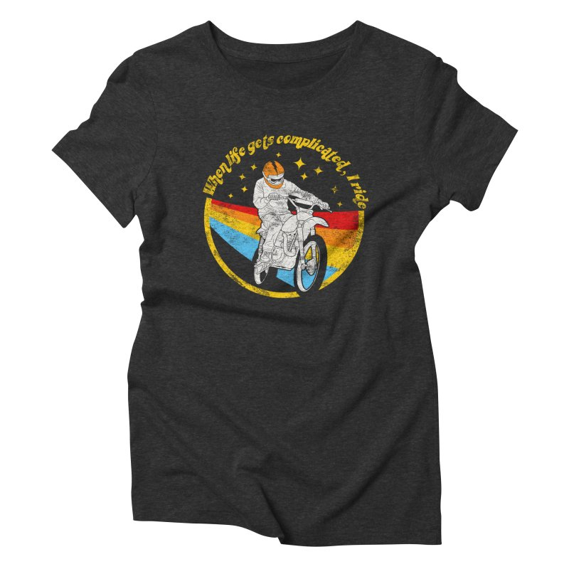 complicated Women's Triblend T-Shirt by junkers's Shop