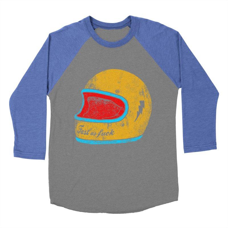 fast as fuck Women's Baseball Triblend T-Shirt by junkers's Shop