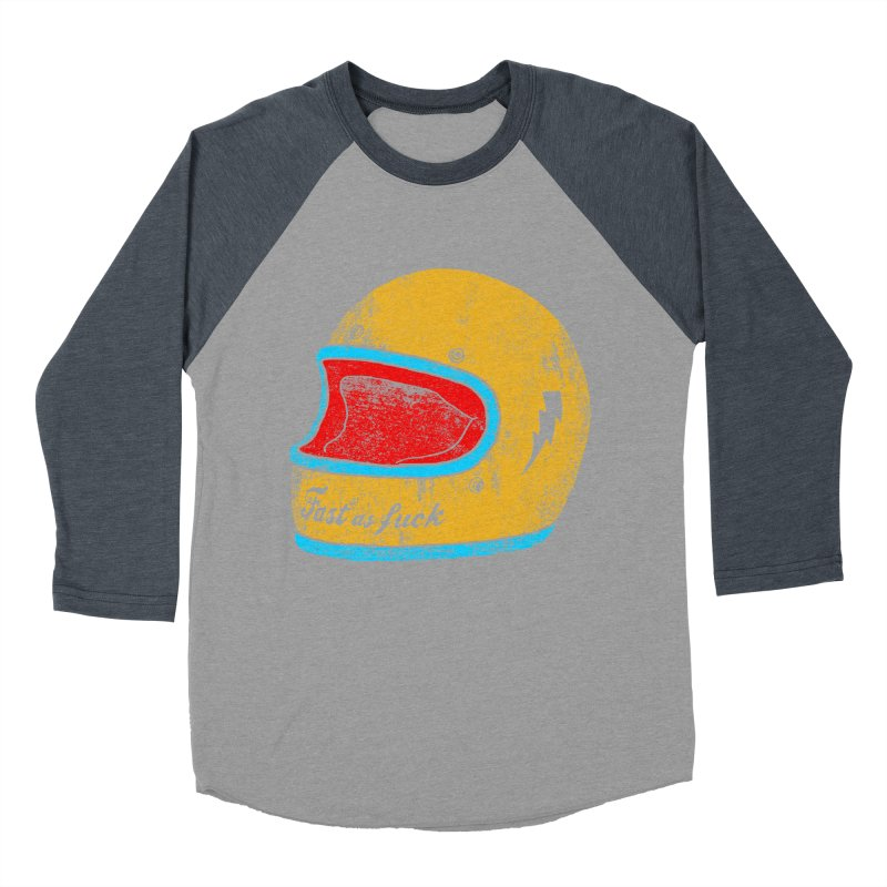 fast as fuck Men's Baseball Triblend T-Shirt by junkers's Shop