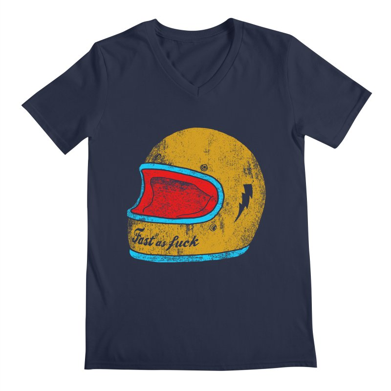 fast as fuck Men's V-Neck by junkers's Shop