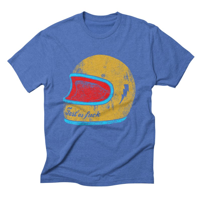 fast as fuck Men's Triblend T-shirt by junkers's Shop