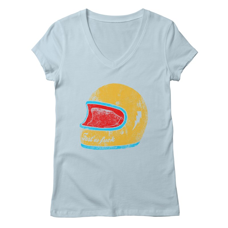 fast as fuck Women's V-Neck by junkers's Shop