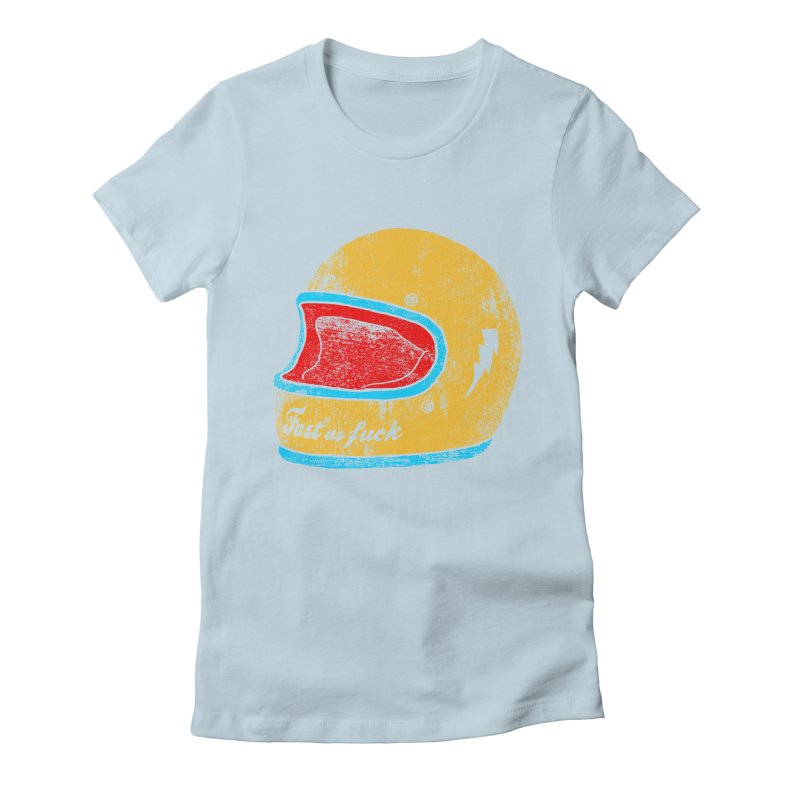 fast as fuck Women's Fitted T-Shirt by junkers's Shop