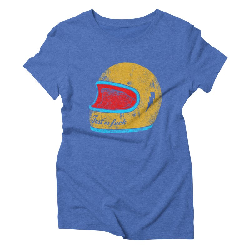 fast as fuck Women's Triblend T-shirt by junkers's Shop